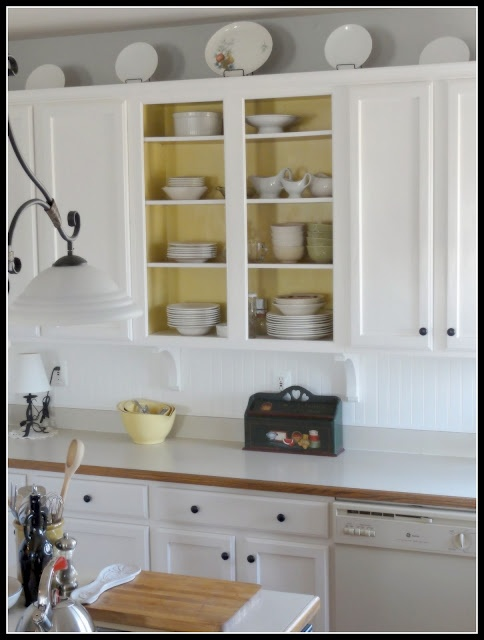The Empty Nest: painted cupboards: Cabinets, Kitchens, Color, Kitchen Ideas