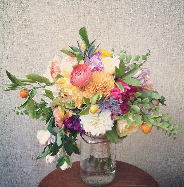 Incredible bouquet by @jacin fitzgerald :: lovely little details ::