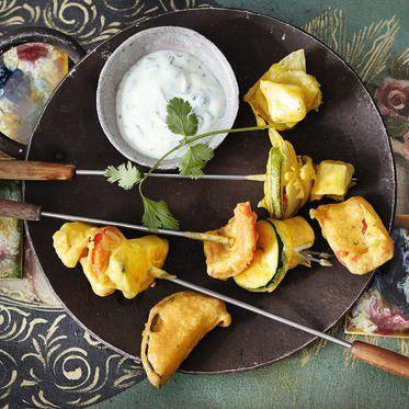 Indisches Gemüsefondue Rezept | Küchengötter