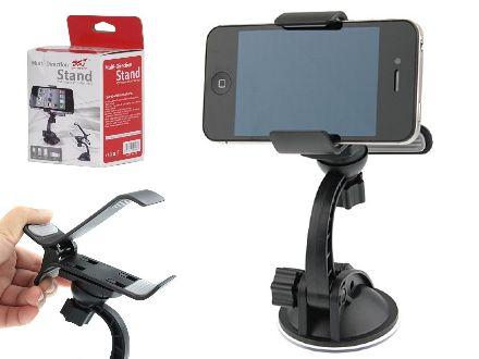 Suport auto universal pentru telefon, GPS, PDA, Mp4, acum doar 16 Lei in loc de 43 Lei!