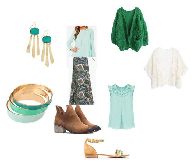 """""""Aurélie 2"""" by severine-veyrac on Polyvore featuring mode, WithChic, MANGO et Mata Traders"""