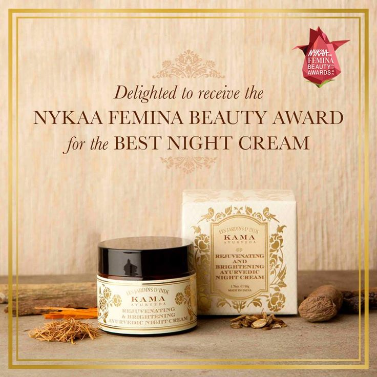 A special blend of precious ingredients to help illuminate skin and promote cell growth. Kama Brightening Ayurvedic Night Cream received the Nykaa Femina Beauty Award for the Best Night Cream!. Now available at Sunday The Spa. Call: 7353572200 We are making it special, so should you. Love, care & cure, Sunday- theSpa. #sundaythespa#kamaayurveda#nykaa#nykaabeauty#nykaafeminabeautyawards#glowingskin#face moisturizers