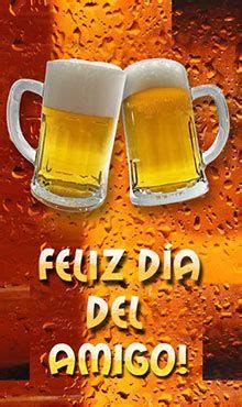 Pin De Dolors Blancafort En Imatges De Bon Dia   Feliz Día Beer, Messages, Templates, Friendship Images With Quotes, Happy Friends Day, Friendship Sms, Root Beer, Ale