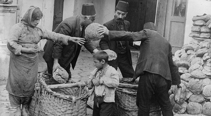 Ormiańscy uchodźcy w 1915 roku