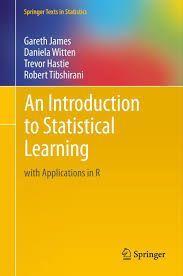 Resultado de imagen de introduction to statistical learning