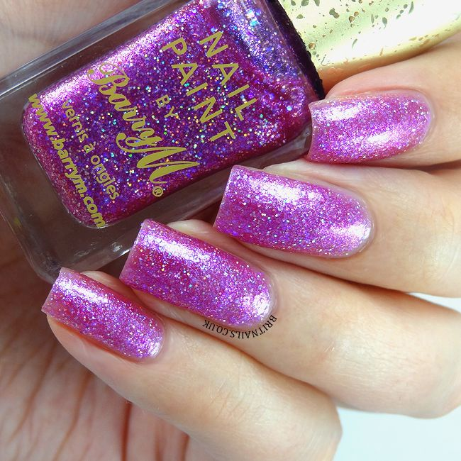 Barry M Glitterati Collection Swatches and Review