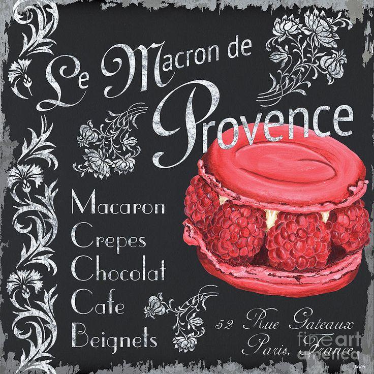 Le Macron De Provence Painting