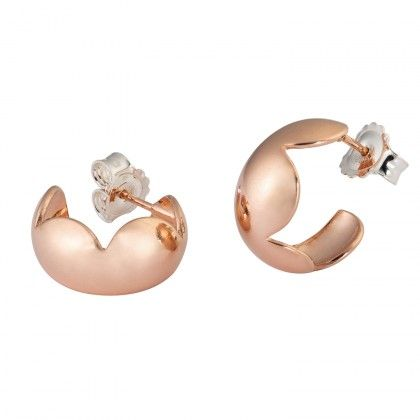 Kalevala Koru / Kalevala Jewelry / Aamu-korvakorut / Rosydawn earrings / Design Kirsti Doukas / Rose gold plated bronze