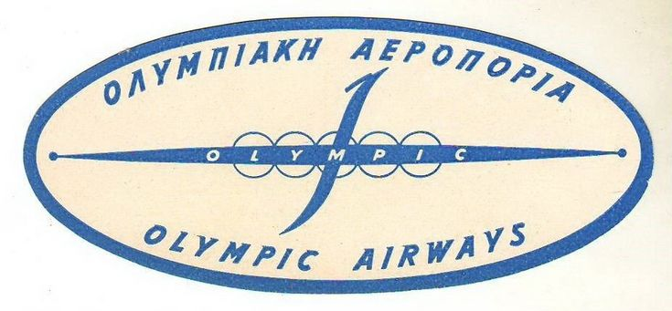 Olympic Airways logo 1950