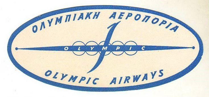Olympic Airways logo 1950