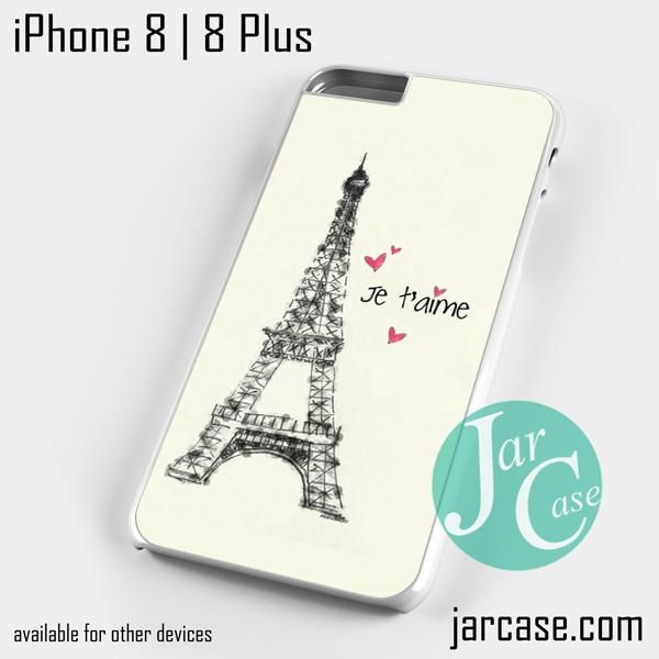 PARIS JE TAIME YD Phone case for iPhone 8 | 8 Plus