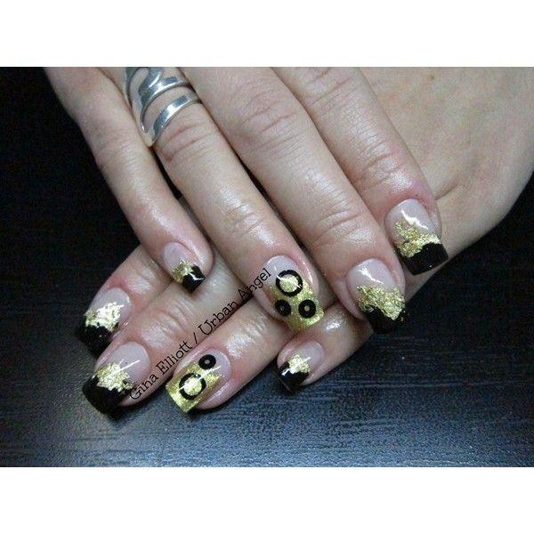 Mejores 97 imágenes de Metallic Nail Art en Pinterest | Diseños de ...