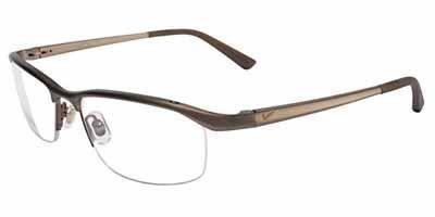 Nike 6037 Eyeglasses (259) Satin Brown, 51mm by Nike.