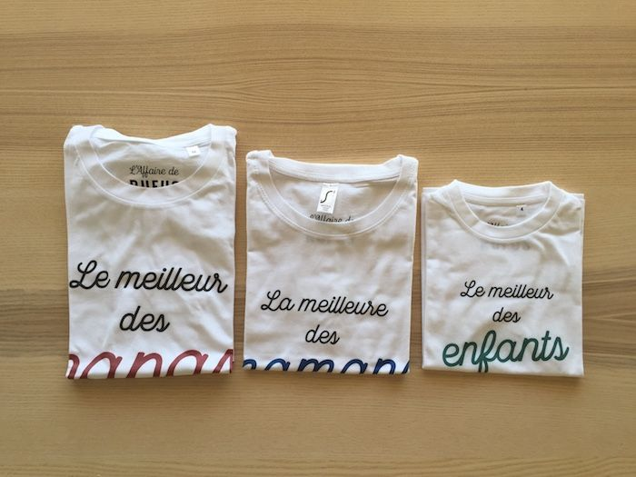 [TEST] l'Affaire de Rufus, la box de tee-shirts assortis