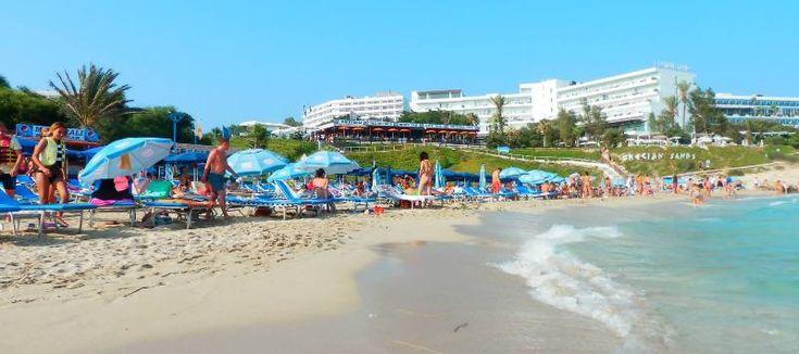 Grecian bay harbour beach ayia napa