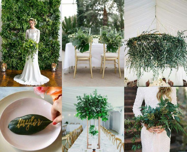 Ботаник стиль свадьба
