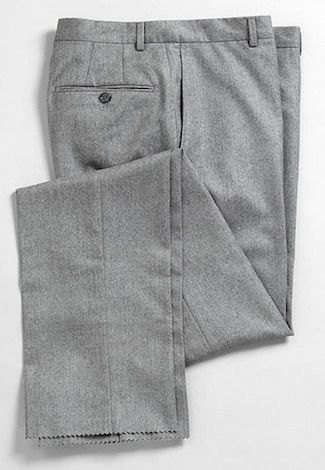 Grey Flannel Trousers #menstyle #trousers