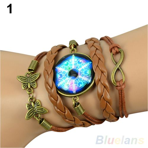 Hot Retro Women Retro DIY Galaxy Pattern Faux Leather Bracelet Butterfly Decoration Wristband  0434 #>=#>=#>=#>=#> Click on the pin to check out discount price, color, size, shipping, etc. Save and like it!