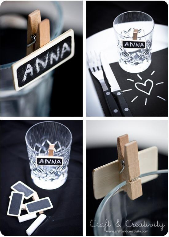 decoracion             marcadores de vasos