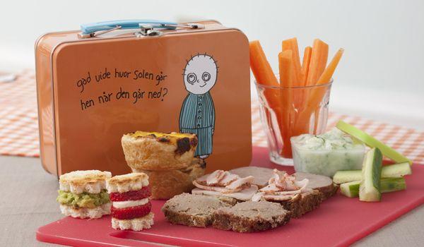 Børnehavebørn bryder sig ikke om for meget pynt på madderne, men kan godt lide at pakke små madder ud.