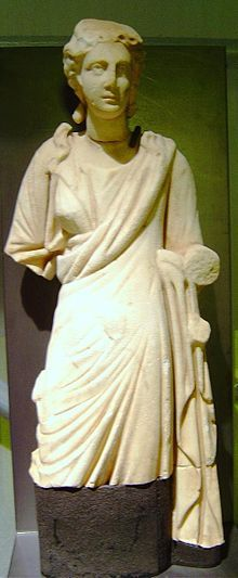 griekse god Hygieia, god van gezondheid en hygiëne