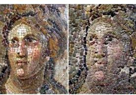 """5-May-2015 10:13 - ROMEINSE MOZAÏEKEN VERNIELD DOOR RESTAURATIE. In een belangrijk museum in het oosten van Turkije zo'n tien mozaïeken beschadigd door een verkeerde restauratie. Sommige kunstwerken stammen nog uit de Romeinse tijd. Een deskundige trok aan de bel bij de lokale krant in Antakya. """"Waardevolle stukken zijn geruïneerd. Het zijn karikaturen van zichzelf geworden. Sommige exemplaren zijn in heel slechte staat en hebben hun waarde verloren"""", zei hij tegen de krant. """"Er..."""