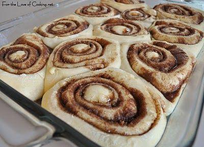 Cinnamon Rolls - ready to bake!