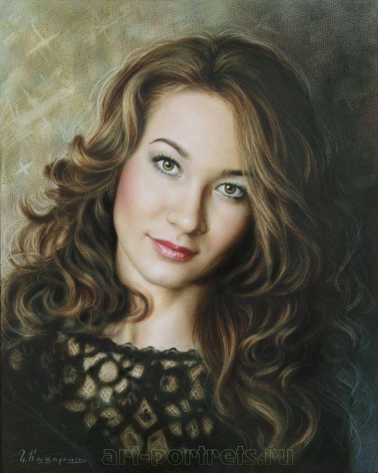 Dry Brush #portrait by Drawing-Portraits on DeviantArt (Igor Kazarin)
