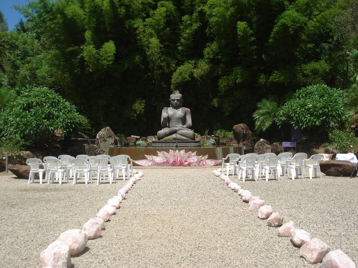 #Crystal #Castle - Hinterland Mullumbimby #Byron Bay.  Gorgeous location for wedding ceremony.