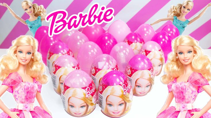 BARBIE ITA - BARBIE ITALIANO 20 ovetti di BARBIE! All'interno delle uova sorpresa di Barbie troverete giochi e giocattoli di Barbie! Potete trovare un bracciale di barbie, una collana, un'accessorio per capelli di Barbie, una bambola di Barbie, un lucchetto di Barbie, una spilla e tanti altri accessori per bambini e ragazze tutti all'interno delle uova sorpresa di Barbie! barbie kinder surprise eggs toys