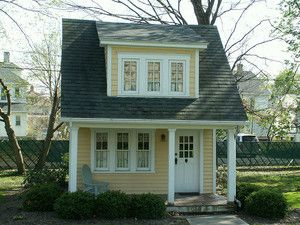 little girls playhouses | Ideas for Decorating a Little Girl's Playhouse - Yahoo! Voices ...