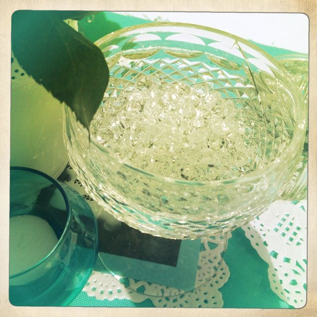Breakfast @ Tiffany's Themed Hen's Party - Table Decorations - Crystal - Diamonds