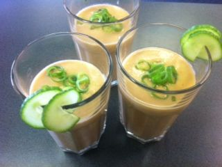 "Recipe Jamie Olivers ""nice and Simple Gazpacho Soup' by Thermo Girl - Recipe of category Soups"