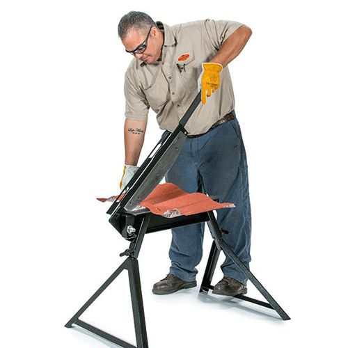 1 Arm Bandit Utility Cutter By Swenson Is Perfect For Cutting Metal Roof  Tiles And Stone
