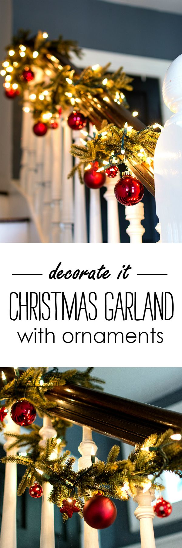 Christmas Decorating Ideas with Garland