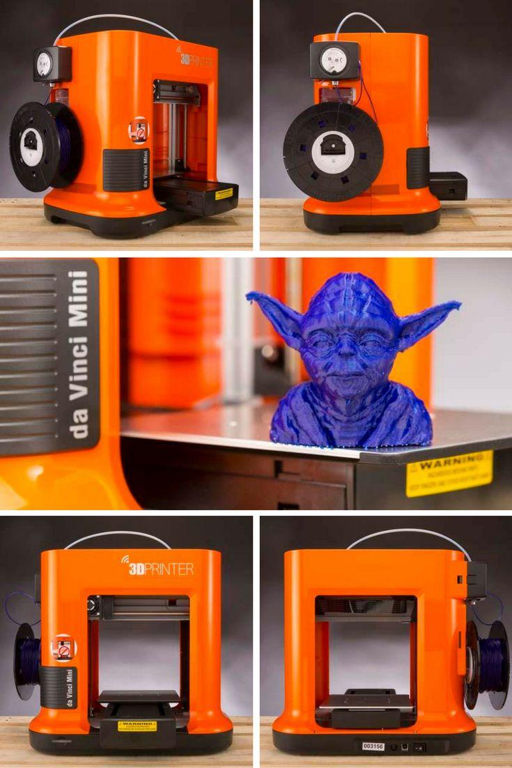 The XYZprinting da Vinci Mini is a consumer-oriented 3D