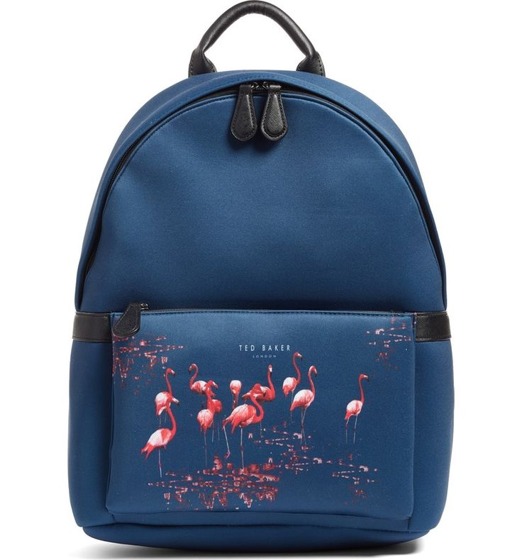 Ted Baker London Print Backpack