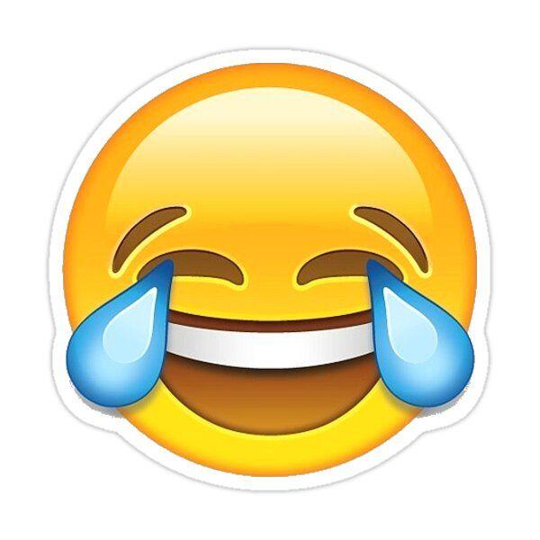 Laughing Emoji Sticker By Shadeenlois In 2021 Crying Emoji Laughing Emoji Funny Emoji