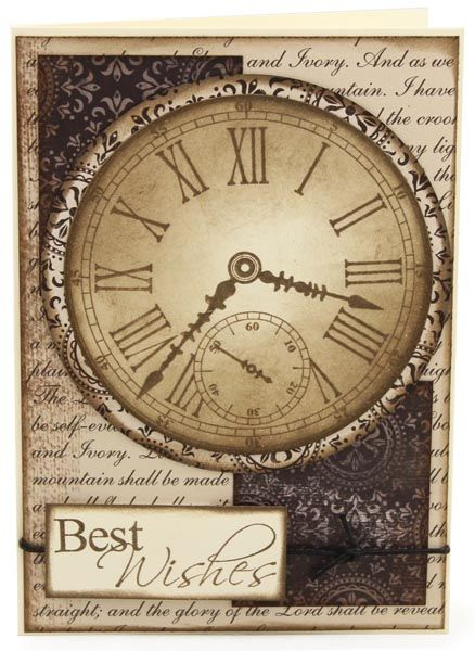 MT586 Ebony and Ivory Timeless Card