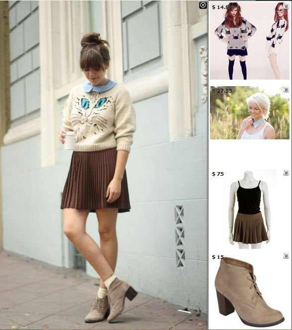Street Style Vintage - Shop matching products in this pic at http://www.stylediggin.com/cute-little-kitten/
