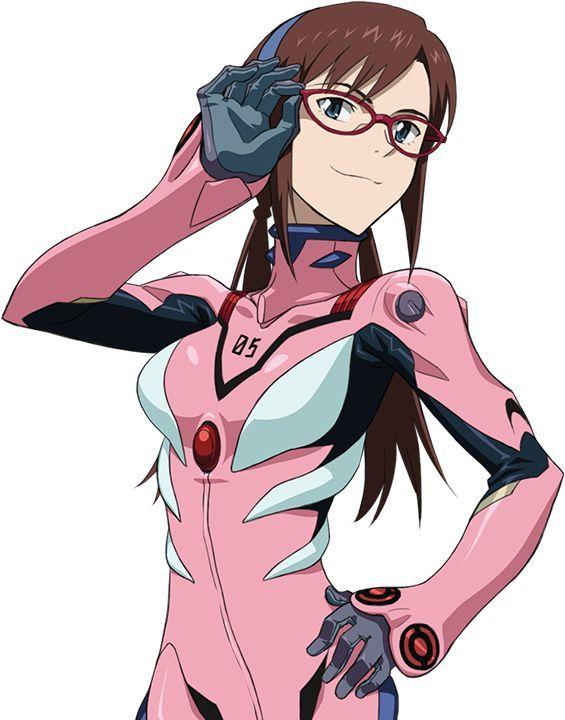 Mari Makinami Illustrious Eva Pilot 05 Plugsuit Khara Yoshiyuki Sadamoto Ev My Blog Desenhos De Anime Anime Desenhos