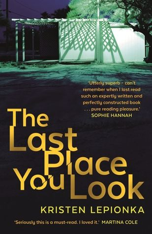 """The last place you look"", by Kristen Lepionka - Roxane Weary is a PI whose life has taken a bit of a downward turn since her larger-than-life cop father died in the line of duty. Then she receives a seemingly impossible case: Sarah Cook, missing ever since the night of her parents' murders, has allegedly been spotted locally. Sarah's boyfriend Brad is on death row for the murders, but Brad's sister hires Roxane to find Sarah in a last-ditch attempt to save her brother's life."