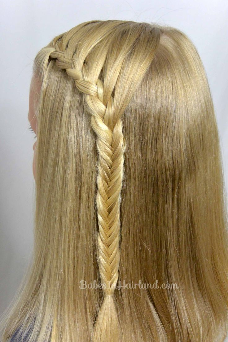 fishbone braid instructions - photo #32
