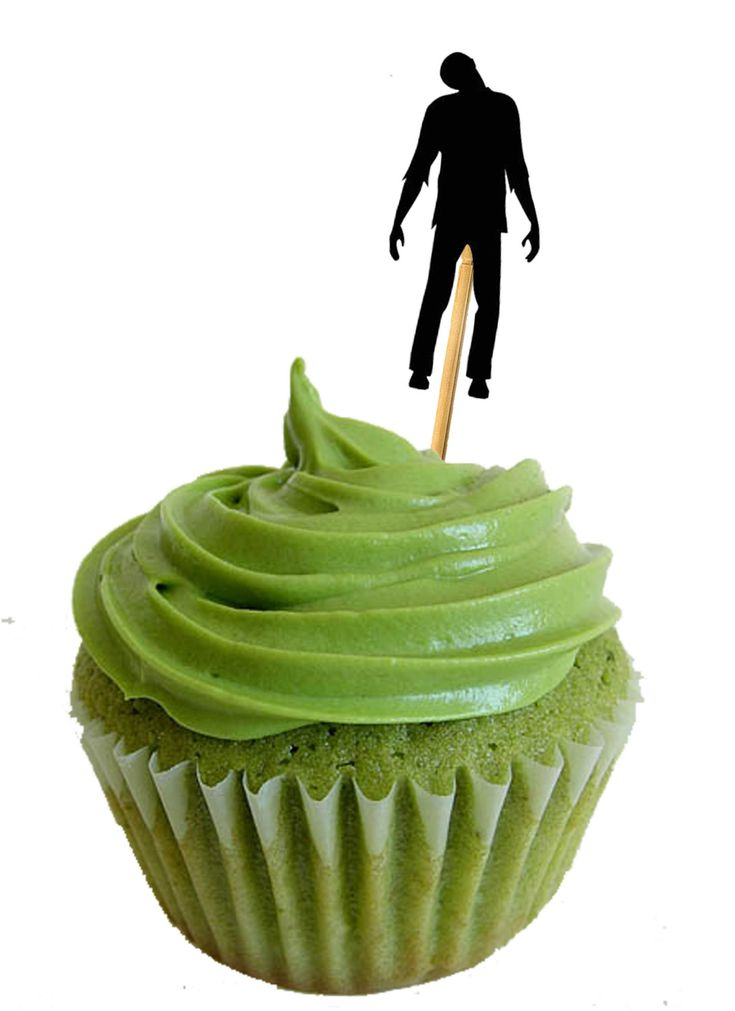 Zombie Party Food Picks 12 pack kit by carnivalpapier on Etsy, $7.00