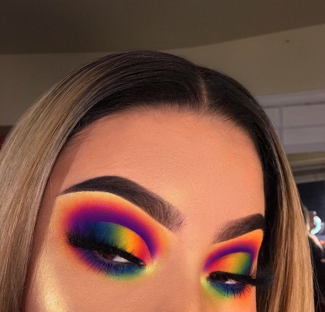 James Charles Palette Rainbow Makeup Makeup Pictures Colorful