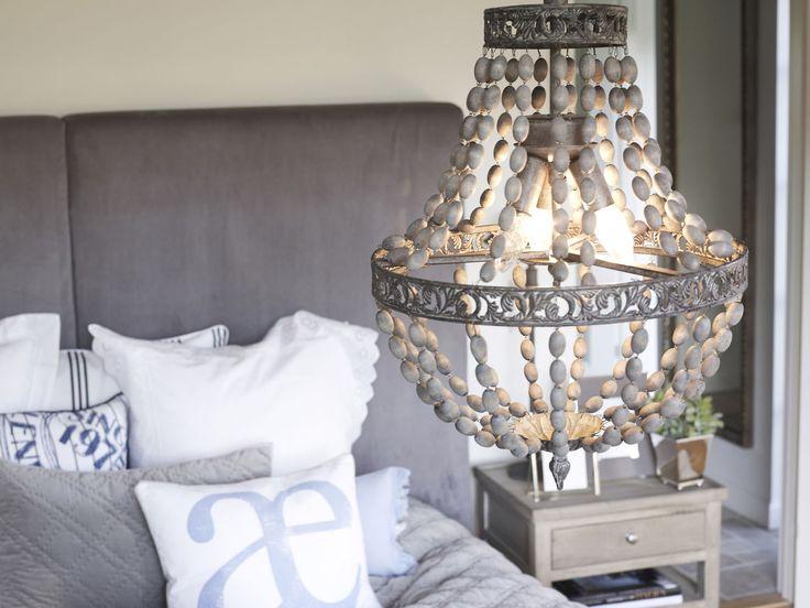 Lene Bjerre - SPRING 2013. LAURIE cushions, DIVINE RUSTIC chandelier, ALENA CHECK VELVET plaid.