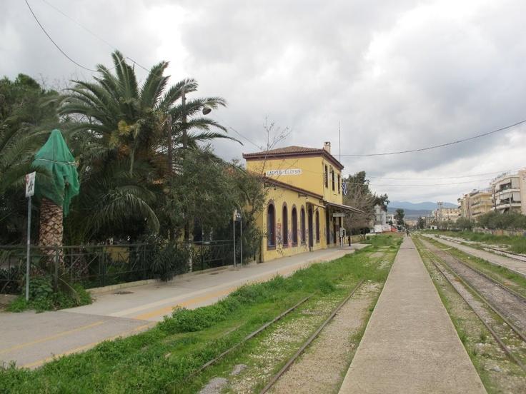 train station in Elefsina