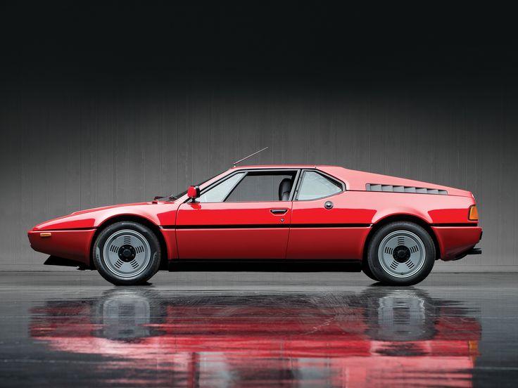 BMW M1 by Italian designer Giorgetto Giugiaro - for BMW-Lamborghini