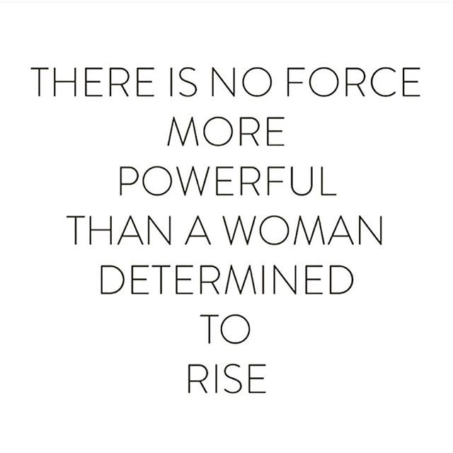 RISE. Rise above negativity. Rise above those who make you feel like shit. Rise from the stigma that you can't. Rise above the men who don't tell you you're beautiful every damn day. Rise, because you can. Rise because you want it. Rise, because you're fucking amazing and deserve no less. You're a Queen in your own right, no matter what they say, believe it woman. You got this!