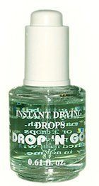 Duri Cosmetics Drop 'N Go - Drying Drops by Duri. $14.99. Dries nail enamel from top to bottom in no time. Improves wearability of nail polish. Brilliant gloss. New! Instant Drying Drops. New! Duri Cosmetics DROP 'N GO Instant Drying Drops. Dries nail enamel from top to bottom in no time. It gives brilliant gloss and remarkably improves wearability of nail polish. HOW TO USE: Apply 1 or 2 drops of Drop 'N Go over the nail polish and top coat. Your polished nails will ...